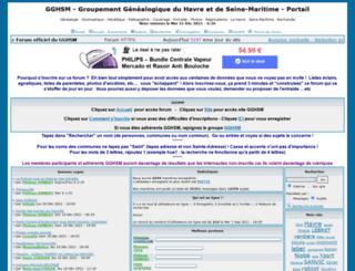 gghsm.forumpro.fr screenshot