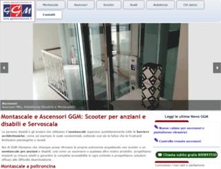 ggmascensori.it screenshot