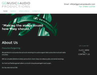 ggmusicandaudio.com screenshot