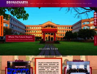 ggnindia.dronacharya.info screenshot