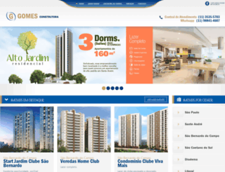 ggomesimobiliaria.com.br screenshot