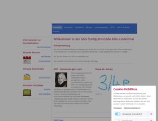 ggs-freiligrathstr.de screenshot