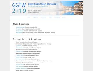 ggtw.ugent.be screenshot