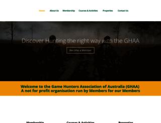ghaa.com.au screenshot