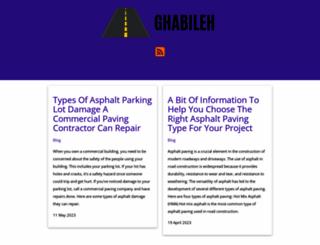 ghabileh.com screenshot
