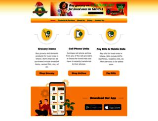 ghanamart.com screenshot