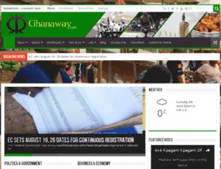 ghanaway.com screenshot
