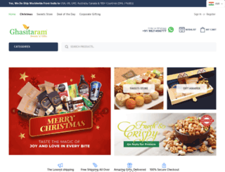 ghasitaramgifts.com screenshot