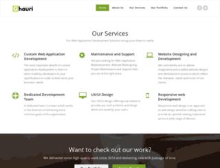 ghauritechnologies.com screenshot