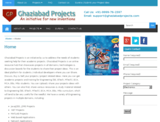 ghaziabadprojects.com screenshot