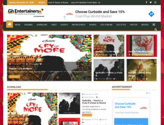 ghentertainers.com screenshot