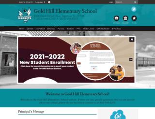 ghes.fortmillschools.org screenshot