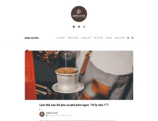 ghiencafe.com screenshot