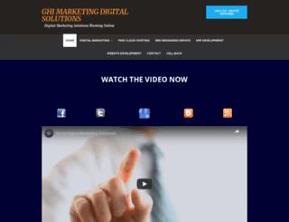 ghimarketing.com screenshot