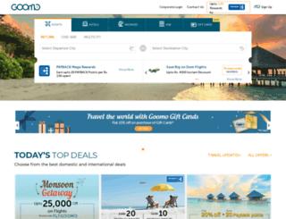 ghoomo.com screenshot