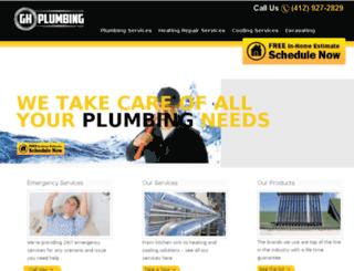 ghorvathplumbing.com screenshot
