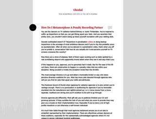 ghoshal.wordpress.com screenshot