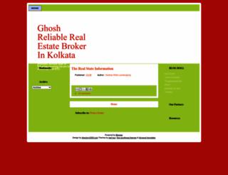 ghoshrealestateinkolkatta.blogspot.in screenshot