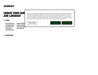 ghost-bikes.com screenshot