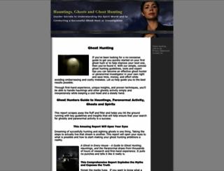 ghost-hunting.org screenshot