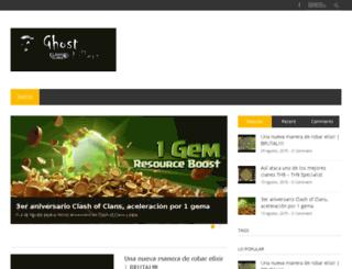 ghost-killers.com screenshot