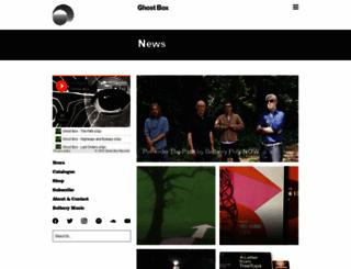 ghostbox.co.uk screenshot