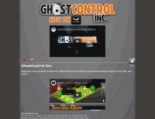 ghostcontrol.biz screenshot