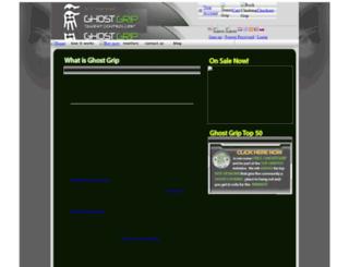 ghostgrip.com screenshot