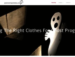 ghosthuntingcornwall.com screenshot