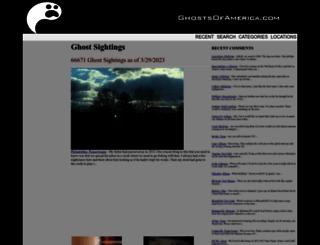 ghostsofamerica.com screenshot