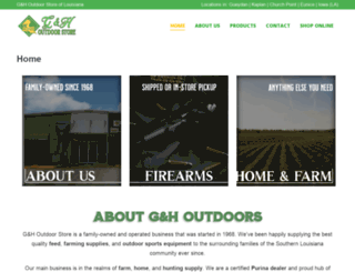 ghoutdoor.com screenshot
