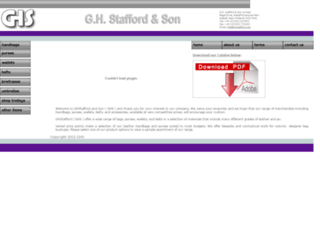 ghstafford.com screenshot