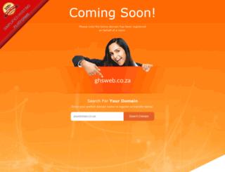 ghsweb.co.za screenshot