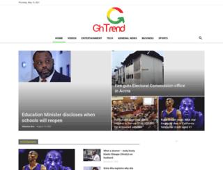 ghtrend.com screenshot