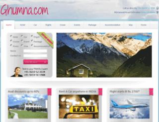 ghumna.com screenshot