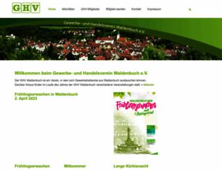 ghv-waldenbuch.de screenshot