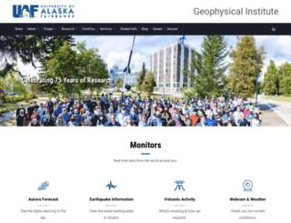 gi.alaska.edu screenshot