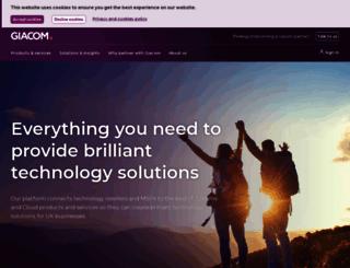 giacom.com screenshot