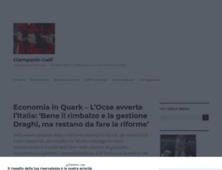 giampaologalli.it screenshot
