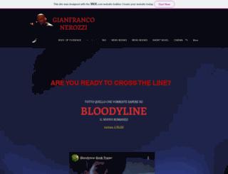 gianfranconerozziofficial.com screenshot