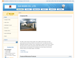 gianhien.en.busytrade.com screenshot