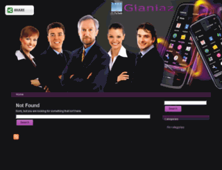 gianiaz.com screenshot