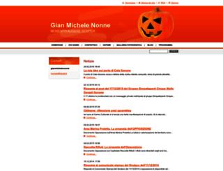 gianmichelenonne.webnode.it screenshot