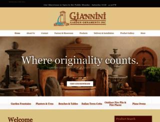gianninigarden.com screenshot