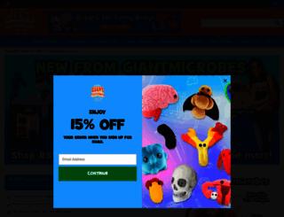 giantmicrobes.com screenshot