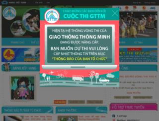 giaothong.go.vn screenshot