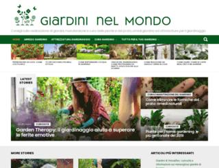 giardininelmondo.it screenshot