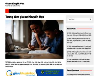 giasukhuyenhoc.edu.vn screenshot