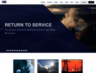 gib.co.za screenshot