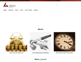 gibpro.hr screenshot